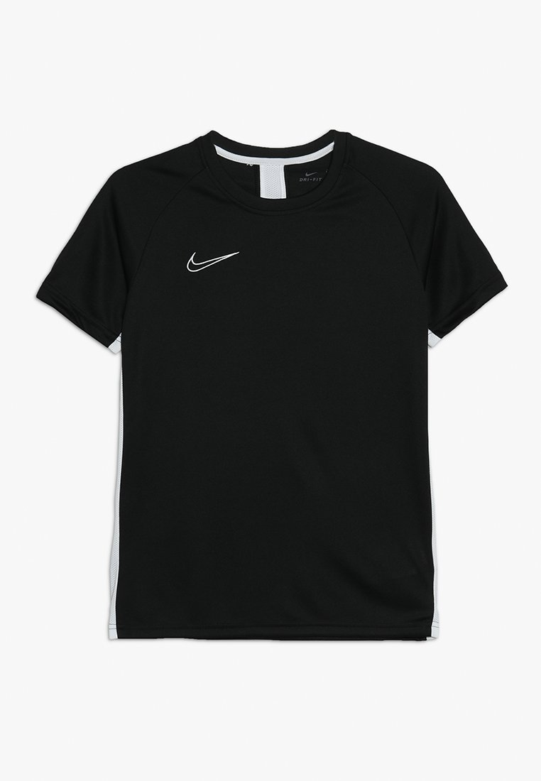 Nike Performance - DRY - T-Shirt print - black/white