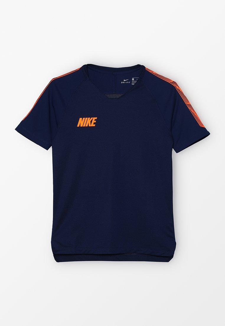 Nike Performance - T-Shirt print - blue void/total orange