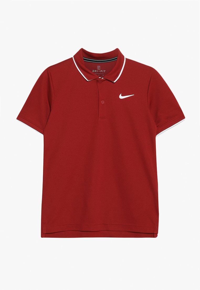 Nike Performance - BOYS DRY TEAM - Sports shirt - crimson/black