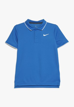 NKCT DRY TEAM - T-shirt de sport - signal blue/white