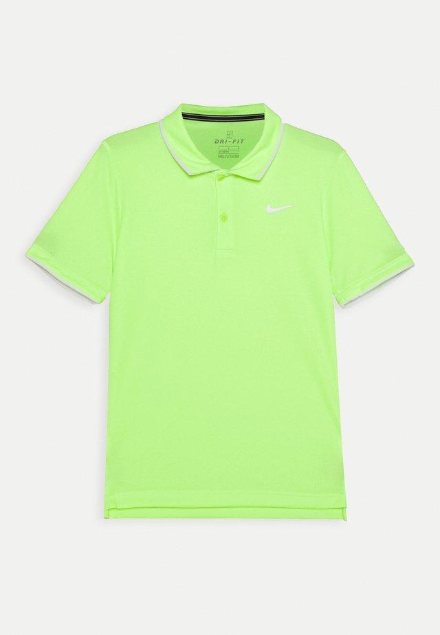 DRY TEAM - Sports shirt - ghost green/white