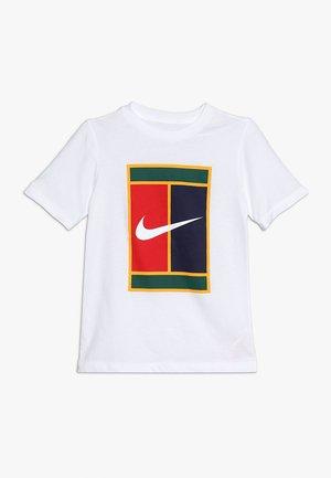 BOYS TEE HERITAGE - Camiseta estampada - white