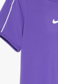 Nike Performance - GIRLS DRY - Print T-shirt - psychic purple/white - 3