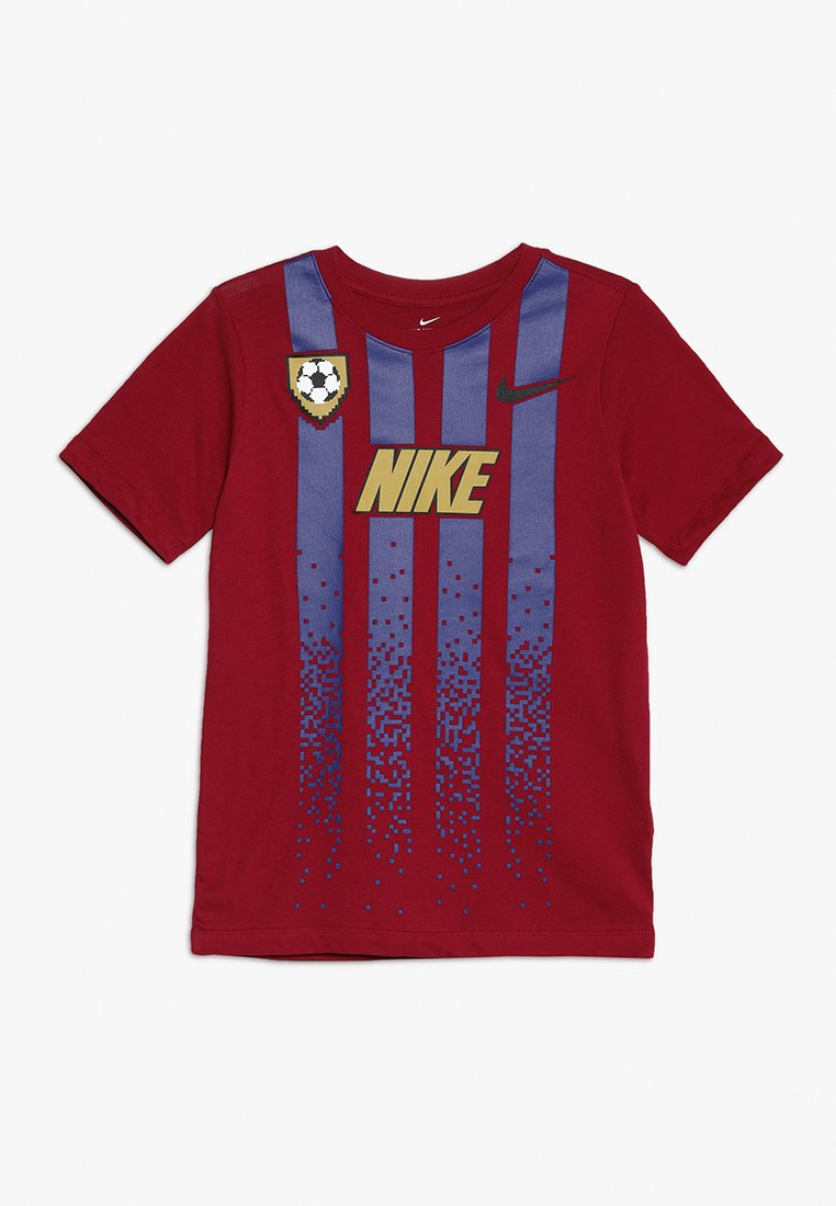 Nike Performance - TEE SOCCER  - T-shirts med print - noble red/deep royal