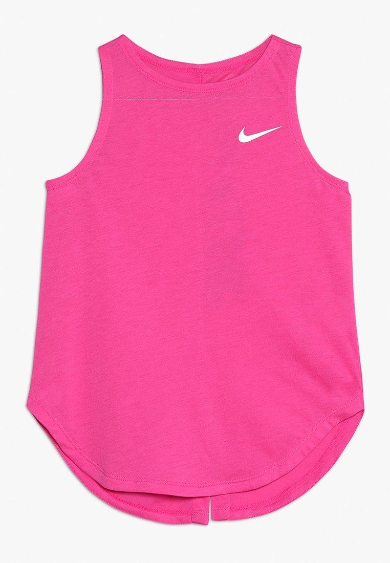 Nike Performance - Sports shirt - laser fuchsia/white