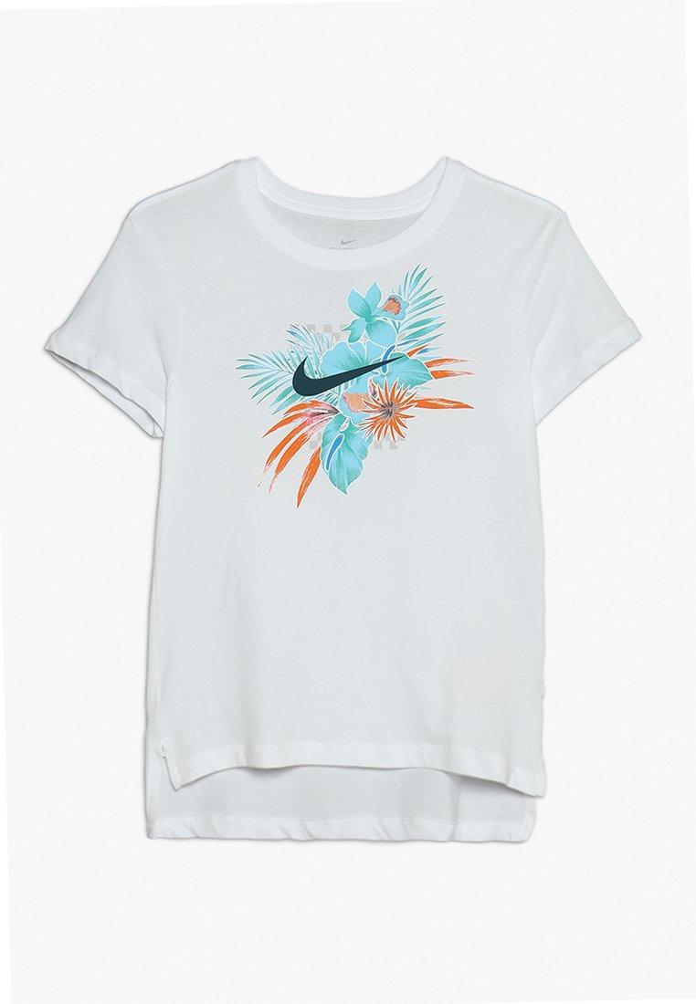 Nike Performance - TEE FOLIAGE FUTURA - T-Shirt print - white