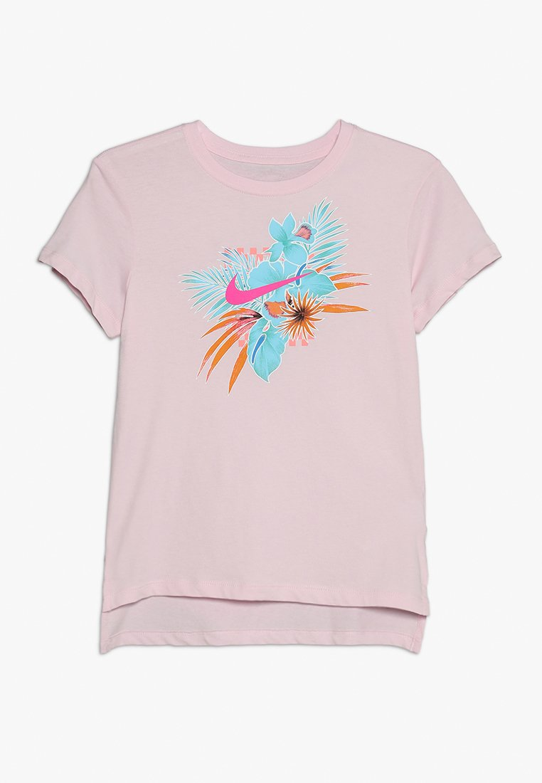 Nike Performance - TEE FOLIAGE FUTURA - T-Shirt print - pink foam