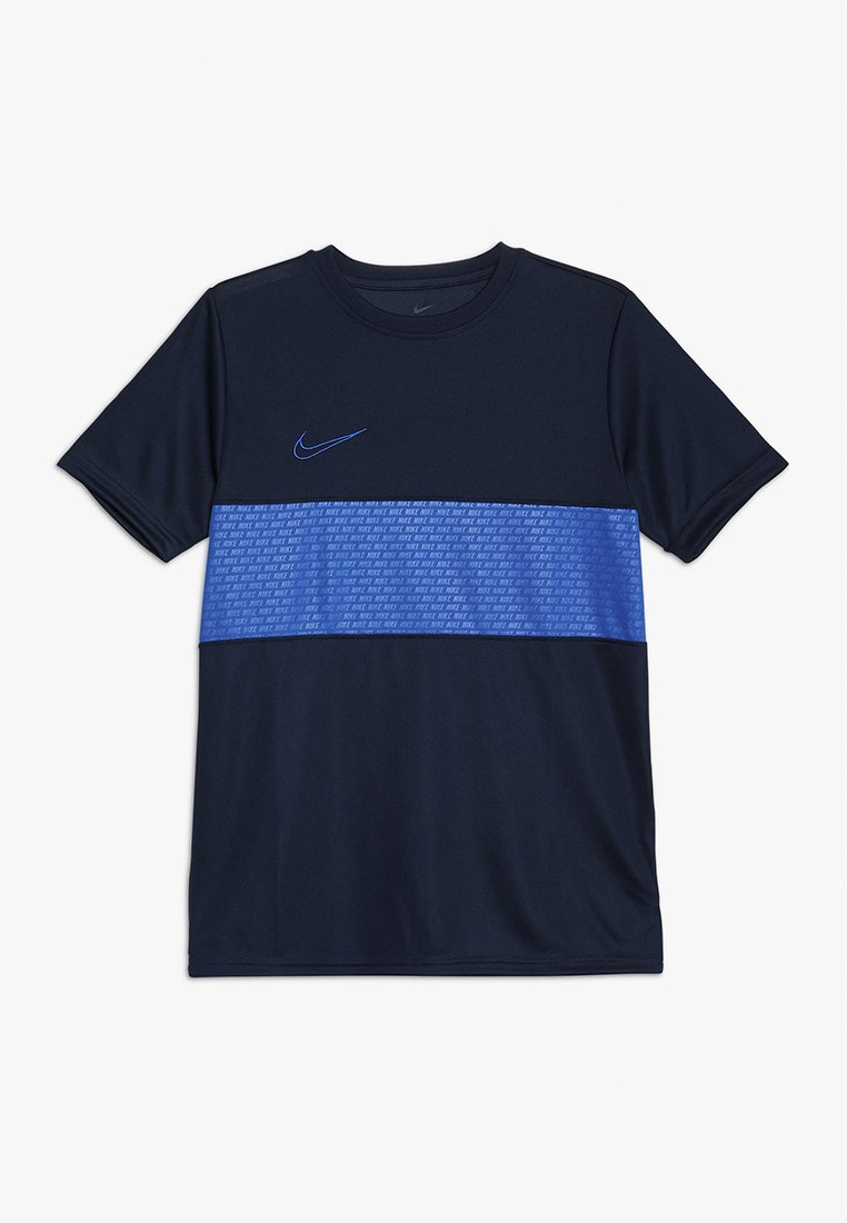 Nike Performance - DRY ACADEMY TOP  - T-shirt con stampa - obsidian/game royal