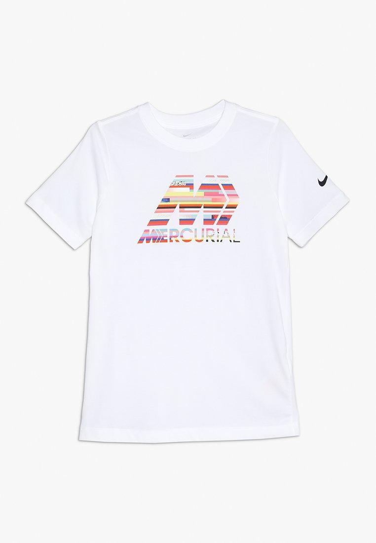 Nike Performance - MERCURIAL DRY TEE - T-Shirt print - white/black