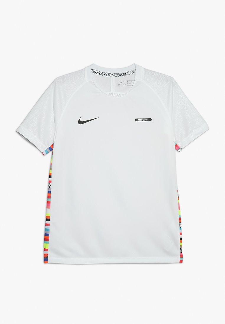 Nike Performance - DRY - T-Shirt print - white/black