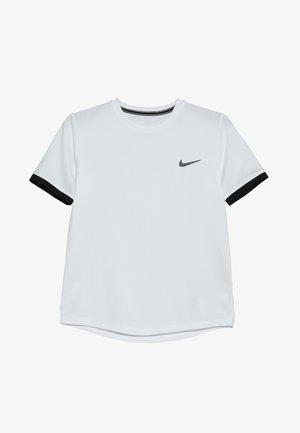 BOYS DRY  - T-shirt basique - white/black