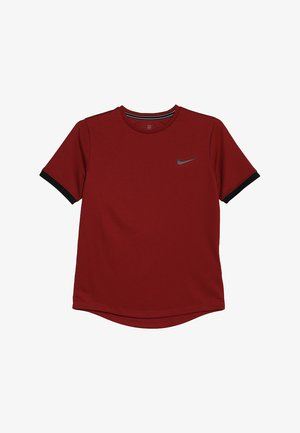 BOYS DRY  - T-shirt - bas - team crimson/black
