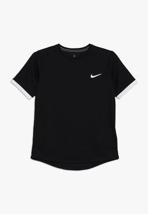 BOYS DRY  - Basic T-shirt - black/white