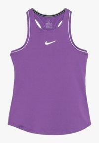 Nike Performance - GIRLS DRY TANK - T-shirt sportiva - purple/white - 0
