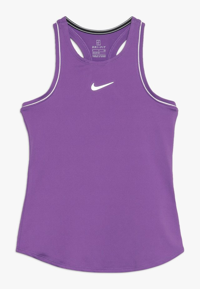 GIRLS DRY TANK - Camiseta de deporte - purple/white