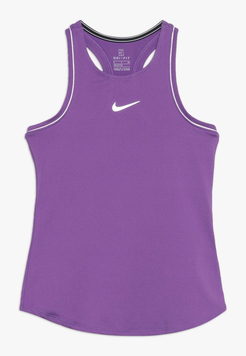 Nike Performance - GIRLS DRY TANK - T-shirt sportiva - purple/white