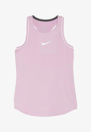 GIRLS DRY TANK - Koszulka sportowa - pink rise/white