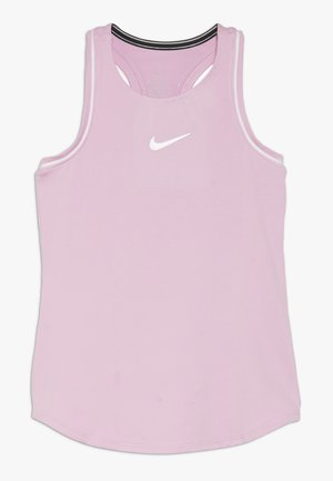 GIRLS DRY TANK - Sports shirt - pink rise/white
