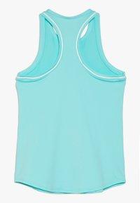 Nike Performance - GIRLS DRY TANK - T-shirt sportiva - light aqua/white - 1