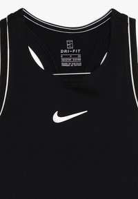 Nike Performance - GIRLS DRY TANK - Sports shirt - black/white - 3