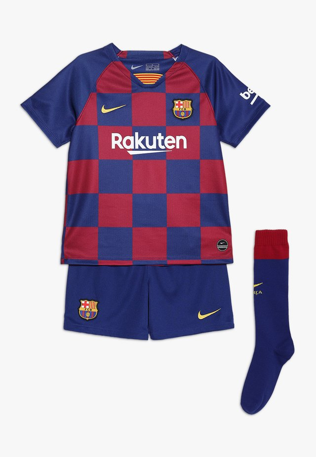 FC BARCELONA SET  - Pantalón corto de deporte - deep royal blue
