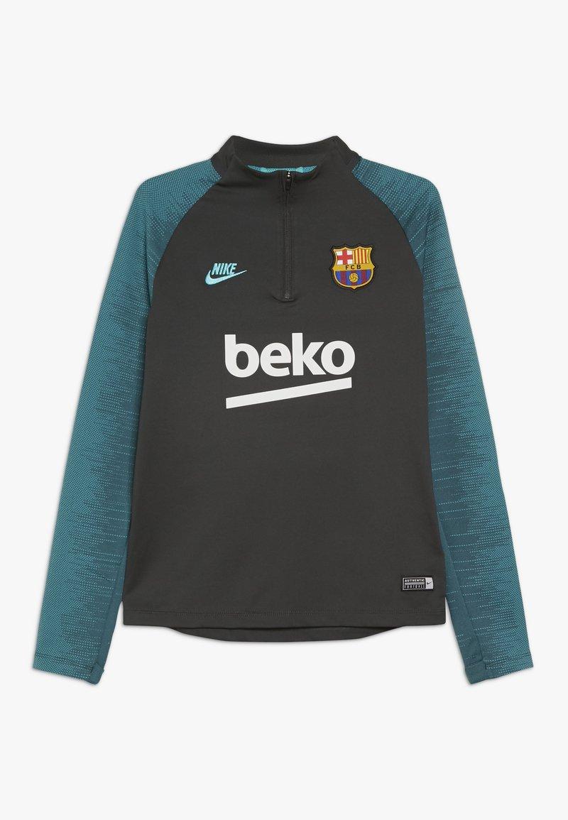 Nike Performance - FC BARCELONA DRY DRILL - Pelipaita - cool grey/dark grey/cabana