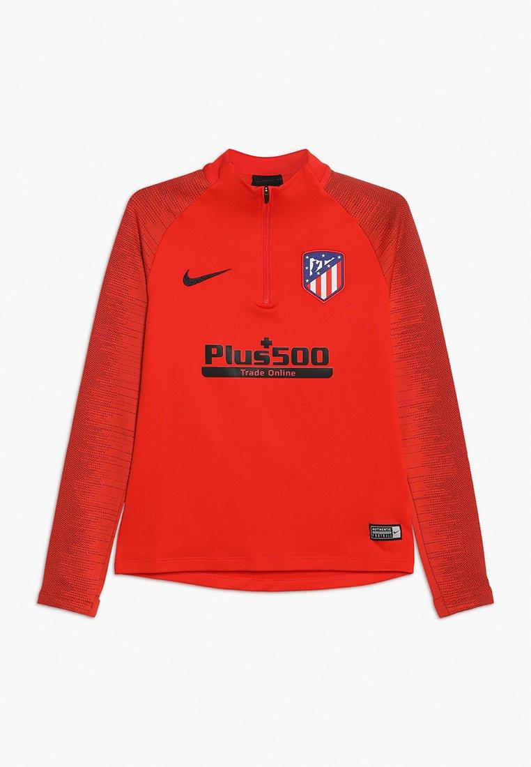 Nike Performance - ATLETICO MADRID DRY DRILL - Vereinsmannschaften - challenge red/black