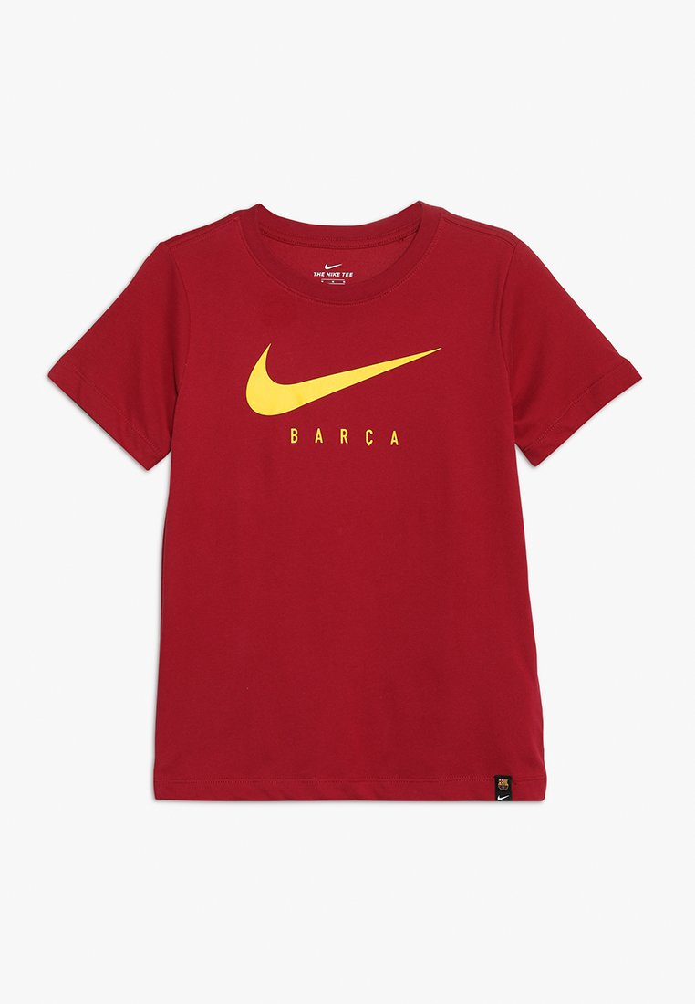 Nike Performance - FC BARCELONA DRY TEE GROUND - Print T-shirt - noble red