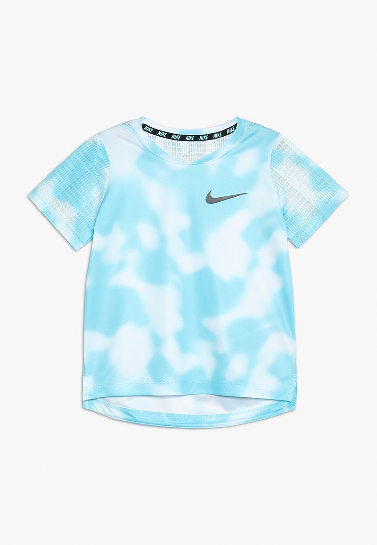 Nike Performance - DRI-FIT INSTACOOL - Print T-shirt - blue gaze