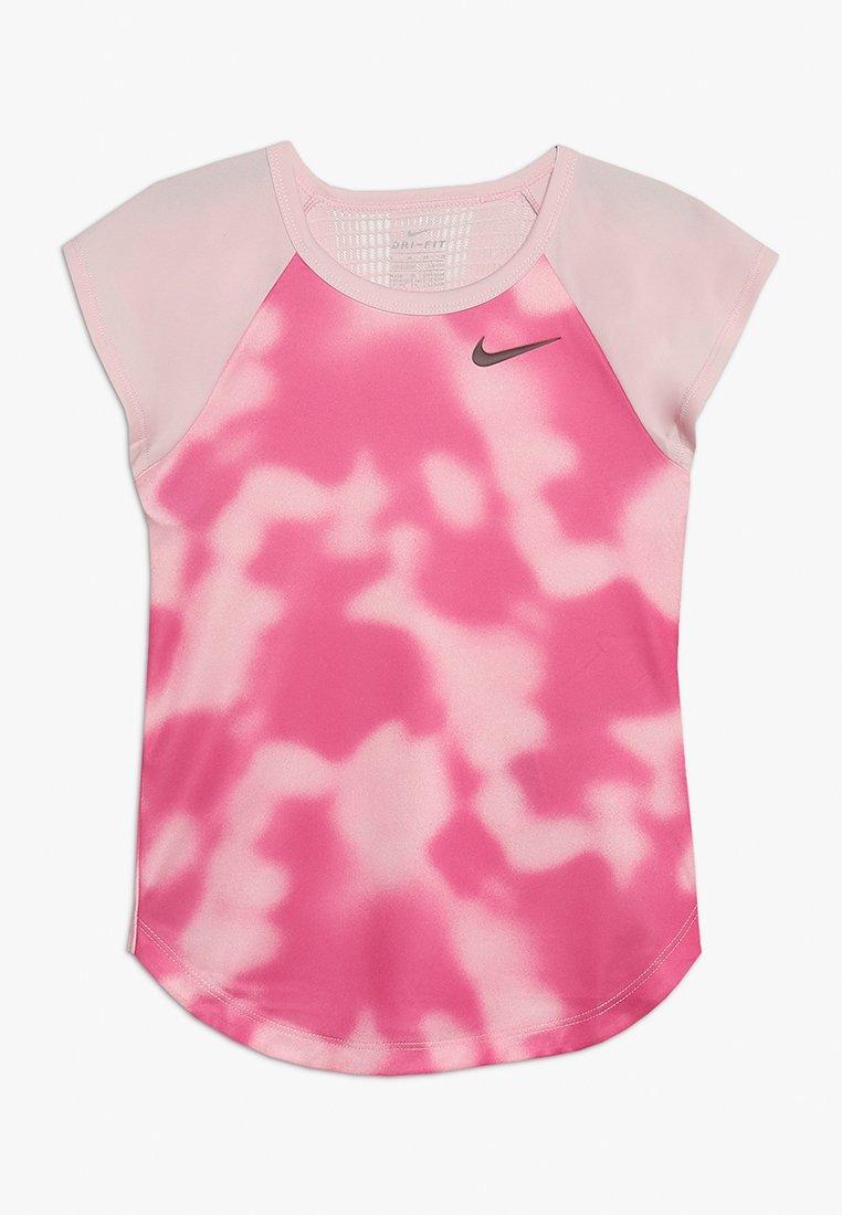 Nike Performance - INSTACOOL - T-Shirt print - pink foam