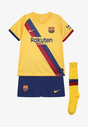 FC BARCELONA SET - Artykuły klubowe - yellow