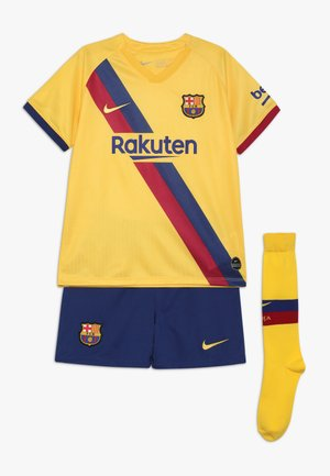 FC BARCELONA SET - Fanartikel - yellow