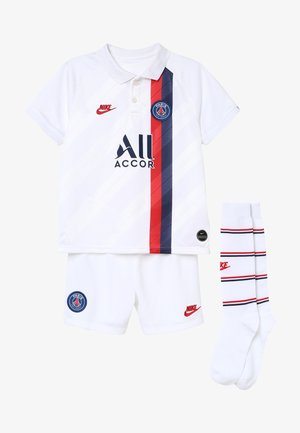 PARIS ST GERMAIN SET - Korte broeken - white/university red