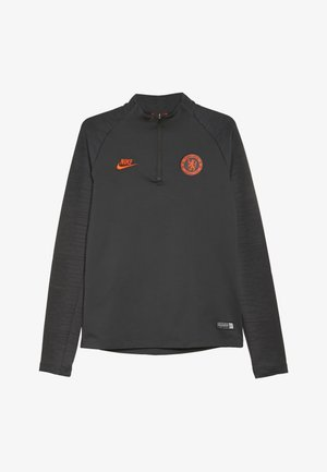 CHELSEA FC DRY  - Fanartikel - anthracite/black/rush orange