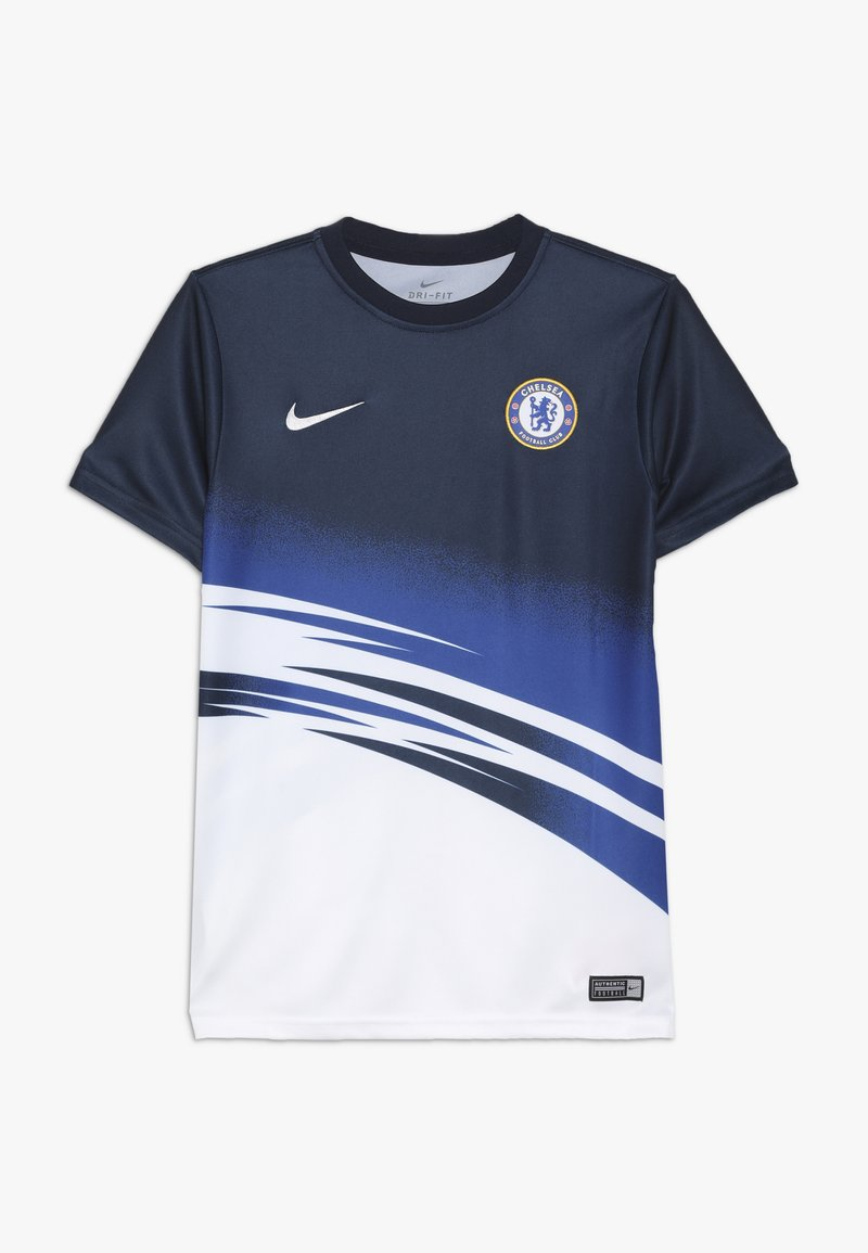 Nike Performance - CHELSEA FC DRY  - Club wear - white/obsidian
