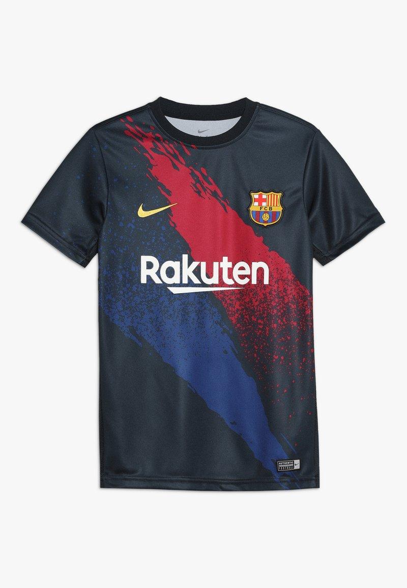 Nike Performance - FC BARCELONA Y DRY  - Fanartikel - dark obsidian