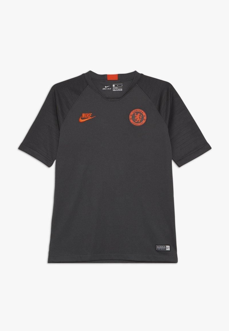Nike Performance - CHELSEA FC - Fanartikel - anthracite/black/rush orange