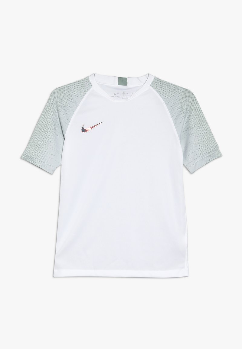 Nike Performance - Print T-shirt - white/silver pine/iridescent