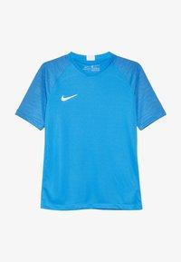 Nike Performance - T-shirt con stampa - light photo blue/coastal blue/white - 2