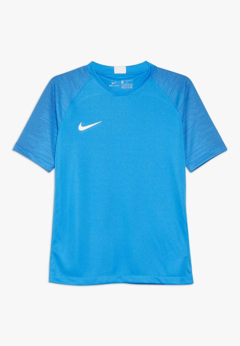 Nike Performance - T-shirt con stampa - light photo blue/coastal blue/white
