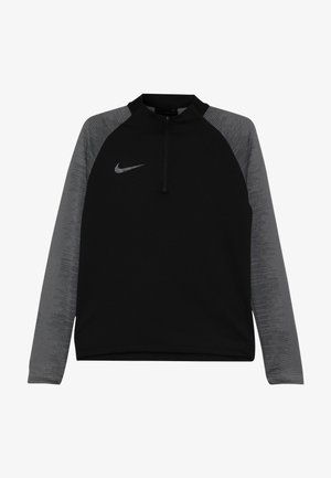 DRY DRIL - Sportshirt - black/black/wolf grey/anthracite