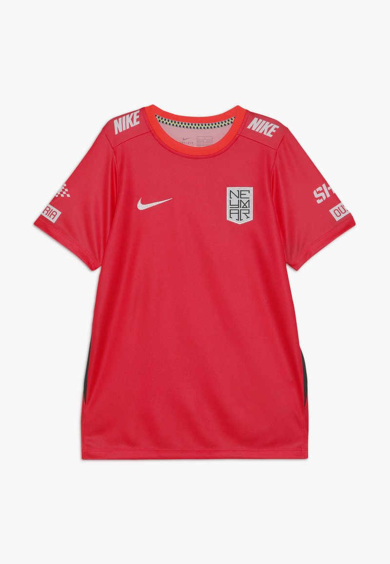 Nike Performance - NEYMAR DRY - Print T-shirt - laser crimson/black/white