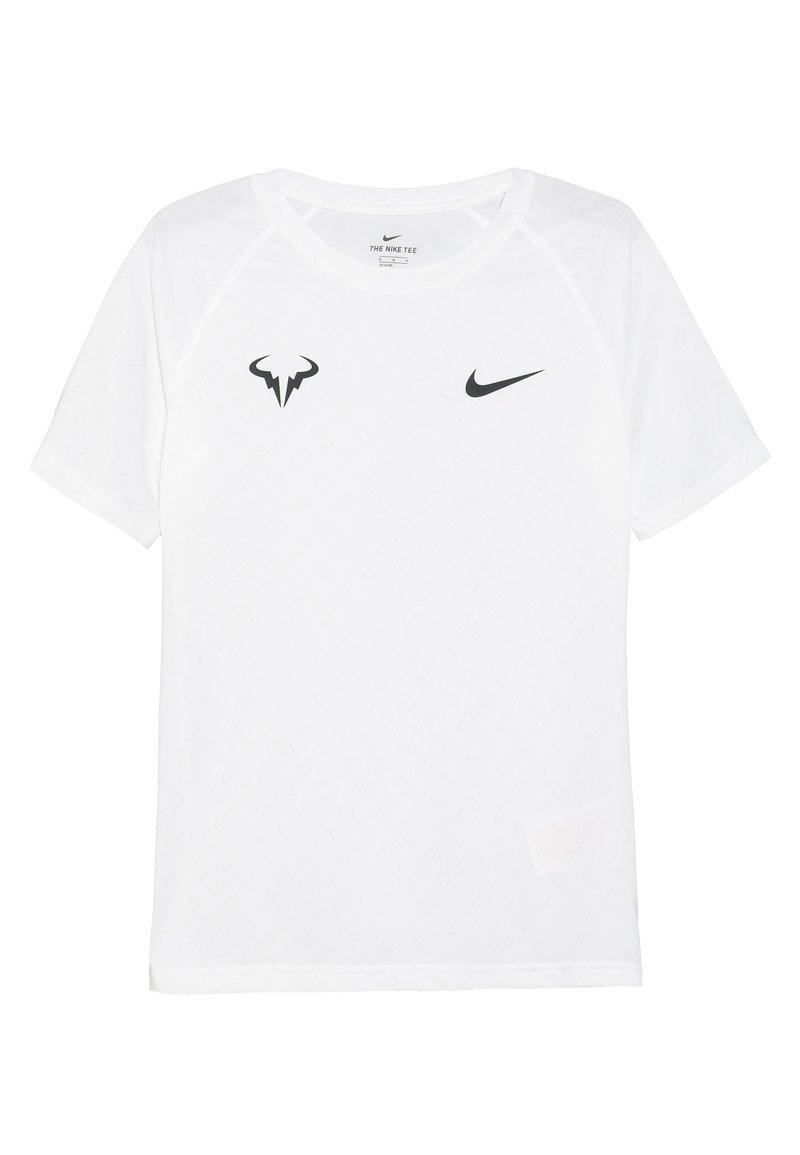 Nike Performance - DRY TEE - Print T-shirt - white