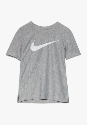 CORE - Camiseta estampada - smoke grey/white
