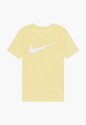 CORE - T-shirt print - speed yellow/white