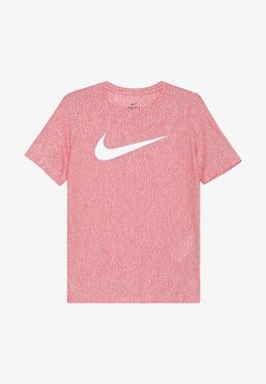 CORE - T-shirt imprimé - university red/white