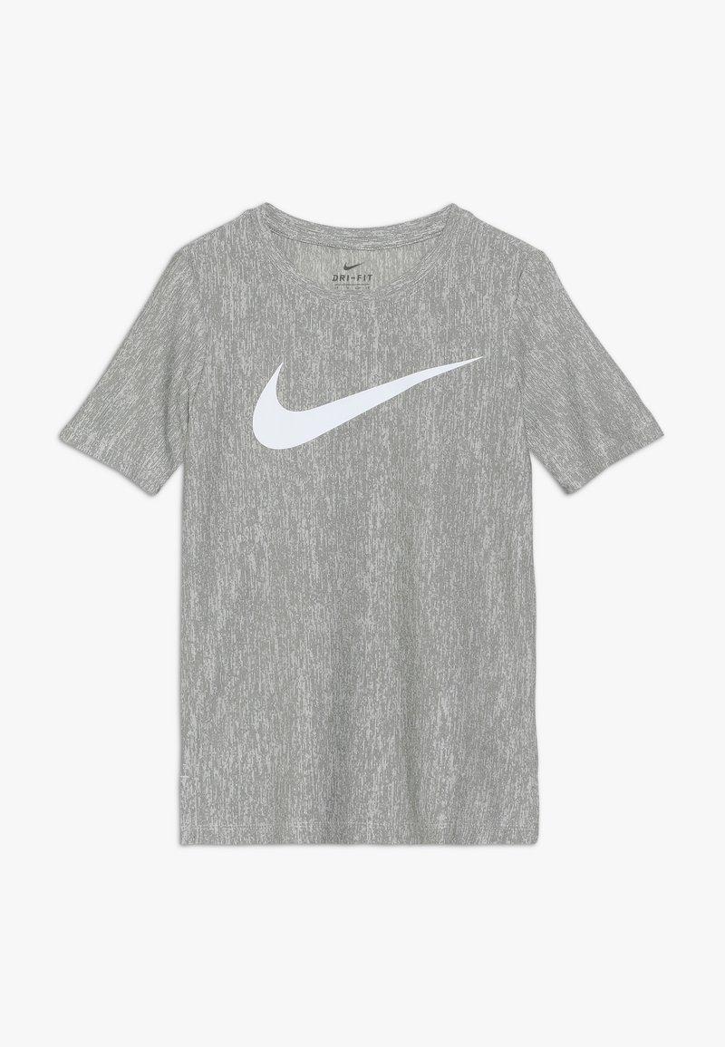 Nike Performance - CORE - T-shirt imprimé - medium olive/white