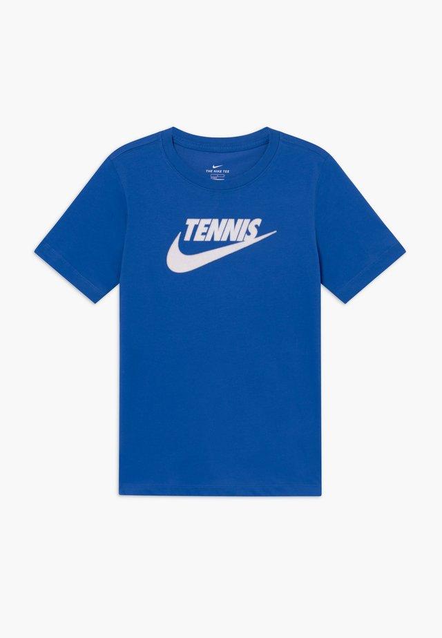 TEE TENNIS - Camiseta estampada - game royal