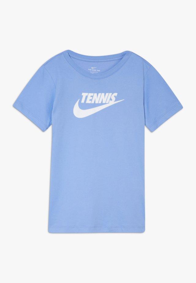 TEE TENNIS - Camiseta estampada - royal pulse/white