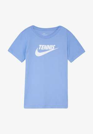 TEE TENNIS - Print T-shirt - royal pulse/white
